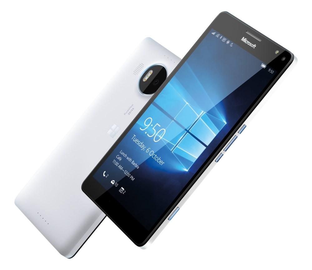 Mobilní telefon Microsoft Lumia 950 XL DS Mobilní telefon, dotykový, 5.7 AMOLED, 3GB RAM, 32GB, Win10, bílý A00026275