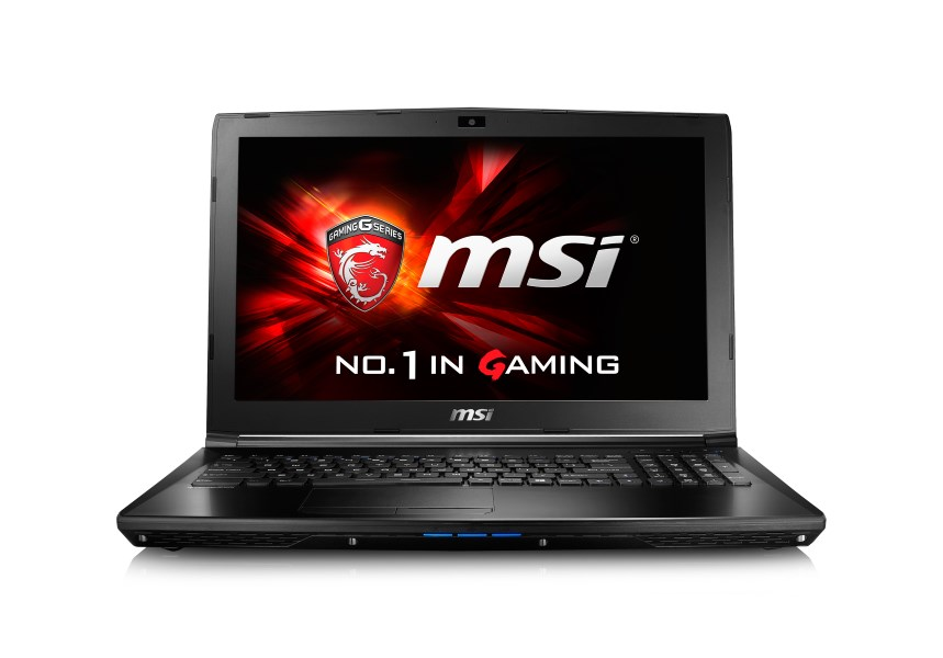 Notebook MSI GL62 6QD-035XCZ Notebook, i5-6300HQ, 8GB, 1TB, 15,6, nVidia GeForce GTX950M, bez OS GL62 6QD-035XCZ