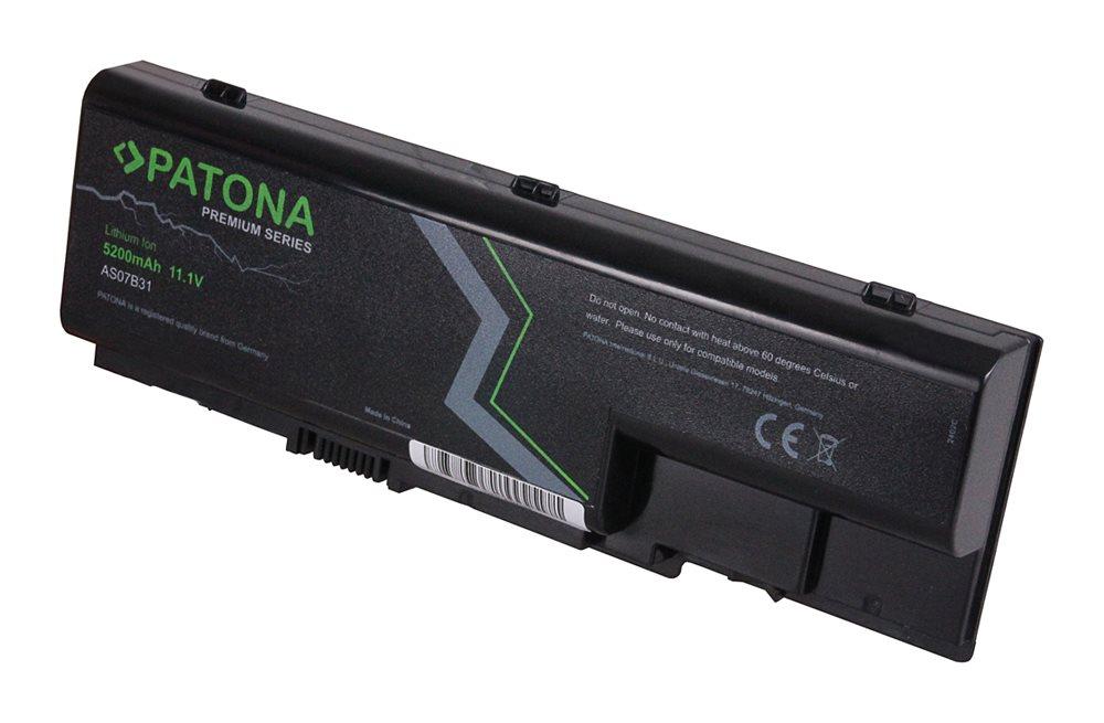 Baterie PATONA pro ACER ASPIRE 5310 Baterie, pro notebook ACER ASPIRE 5310, 5200mAh, Li-Ion, 11.1V, PREMIUM PT2402