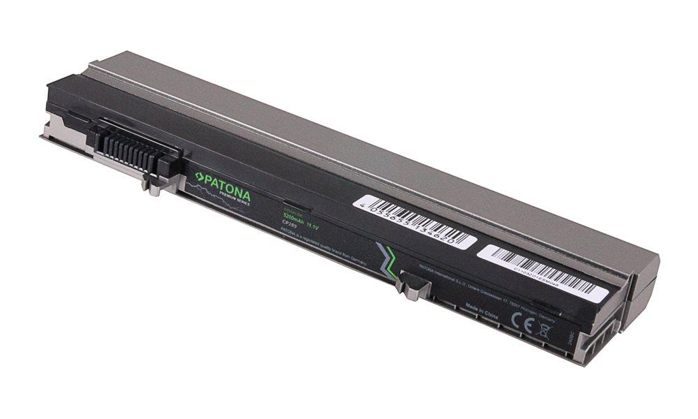 Baterie PATONA pro Dell LATITUDE E4300 Baterie, pro notebook DELL LATITUDE E4300, 5200mAh, Li-Ion, 11,1V, PREMIUM PT2408