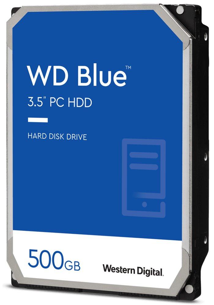 """Pevný disk WD Blue 500GB Pevný disk, interní, 500GB, SATA III, 3,5"""", 7200 rpm, 32MB"""