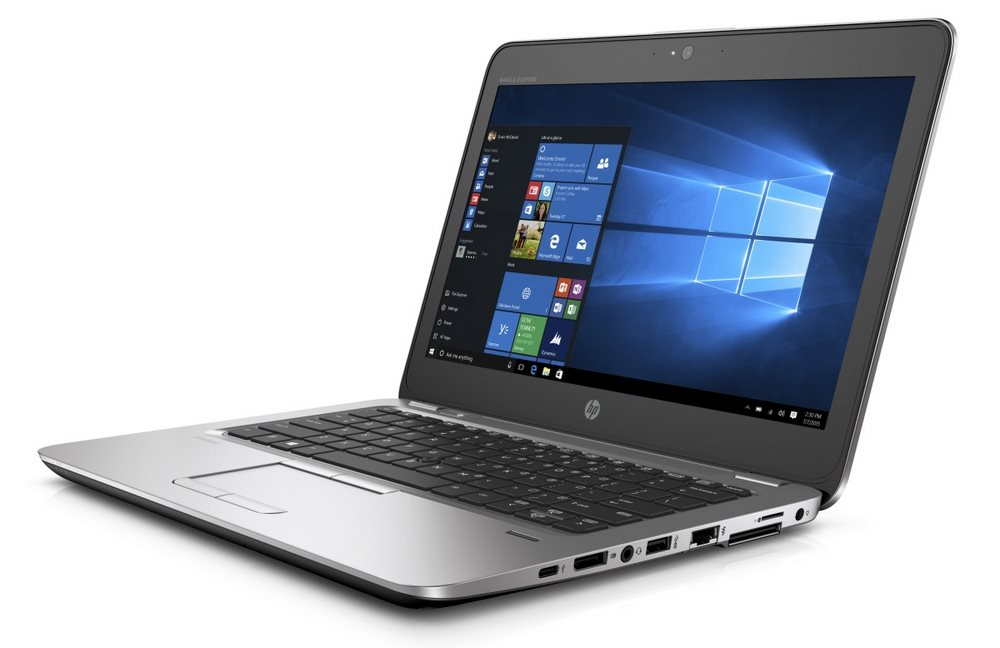 Notebook HP EliteBook 820 G3 Notebook, 12,5 FHD, i5-6200U, 4GB, 256GB SSD, WIFI, BT, USB-C, USB3.0, DP, VGA, Win10 Pro downg. W7 V1C05EABCM