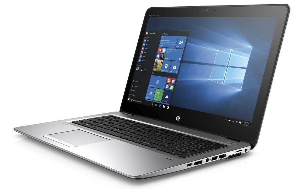 Notebook HP EliteBook 850 G3 Notebook, 15,6 HD, i5-6200U, 4GB, 500GB, WIFI, BT, DP, VGA, USB-C, USB3.0, Win10 Pro downg. W7 T9X18EABCM
