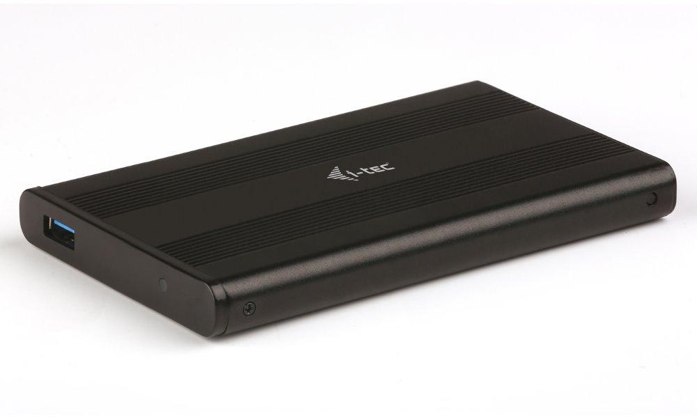 Box na disk I-TEC MySafe AluBasic Box na disk, externí, pro HDD 2,5, SATA, USB 3.0 MYSAFEU312