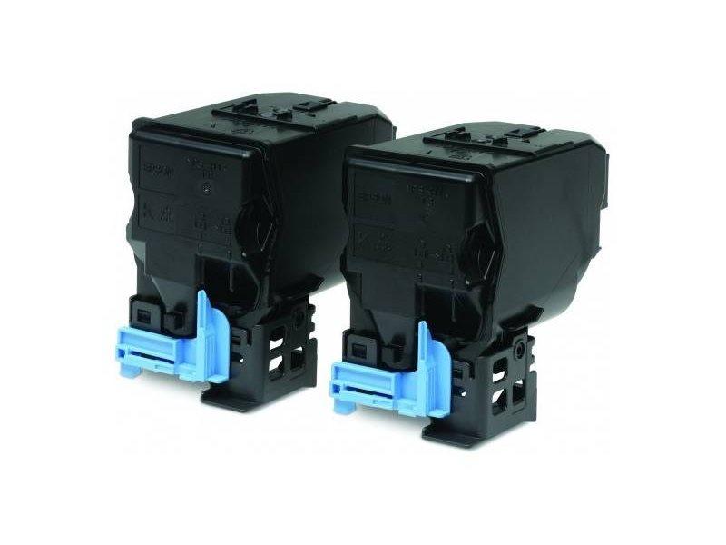 Toner Epson C13S050594 černý Toner, originální, pro Epson AcuLaser C3900, AcuLaser CX37, 2 x 6000 stran, sada 2ks, černý C13S050594
