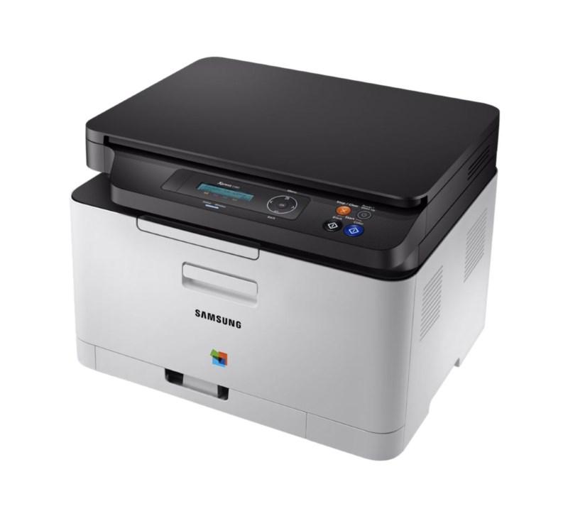 Multifunkční tiskárna SAMSUNG SL-C480 Barevná multifunkční laserová tiskárna, 4ppm, 2400x600 dpi, 128MB, SPL, USB, LCD SL-C480/SEE