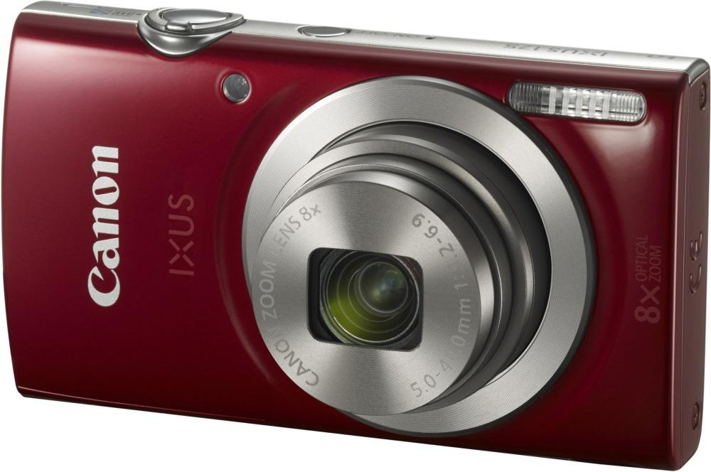 Digitální fotoaparát Canon IXUS 175 červený Digitální fotoaparát, kompaktní, 20 MPix, 8 x zoom, 2,7 LCD, HD video, červený 1097C001AA