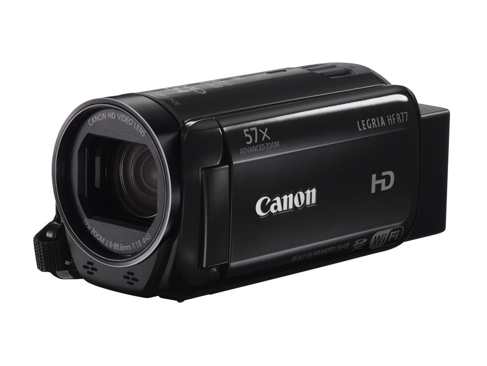 Videokamera Canon LEGRIA HF R77 Videokamera, FULL HD, 32x zoom 1237C014AA