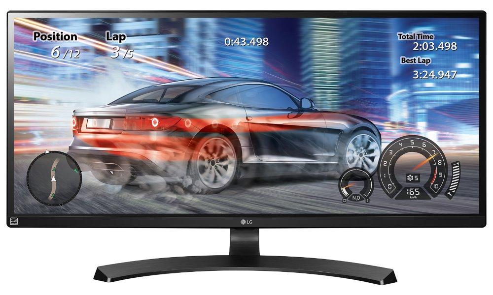 LED monitor LG 34UM68-P 34