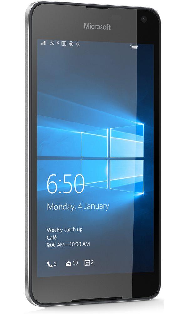 Mobilní telefon Microsoft Lumia 650 Mobilní telefon, dotykový, 5 HD OLED, 1GB RAM, 16GB, LTE, Win10, černý A00026945
