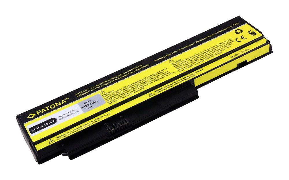 Baterie PATONA pro notebook Lenovo X220 4400 mAh Baterie, pro Lenovo ThinkPad X220, X230, 4400mAh, Li-Ion, 10,8V PT2347