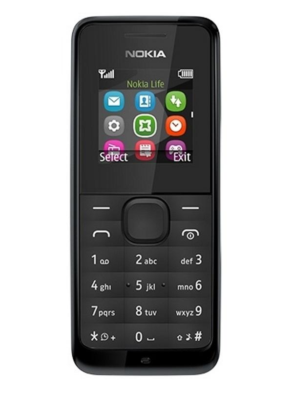 Mobilní telefon Nokia 105 Dual SIM černý Mobilní telefon, 1,4, 4MB RAM, černá A00025877