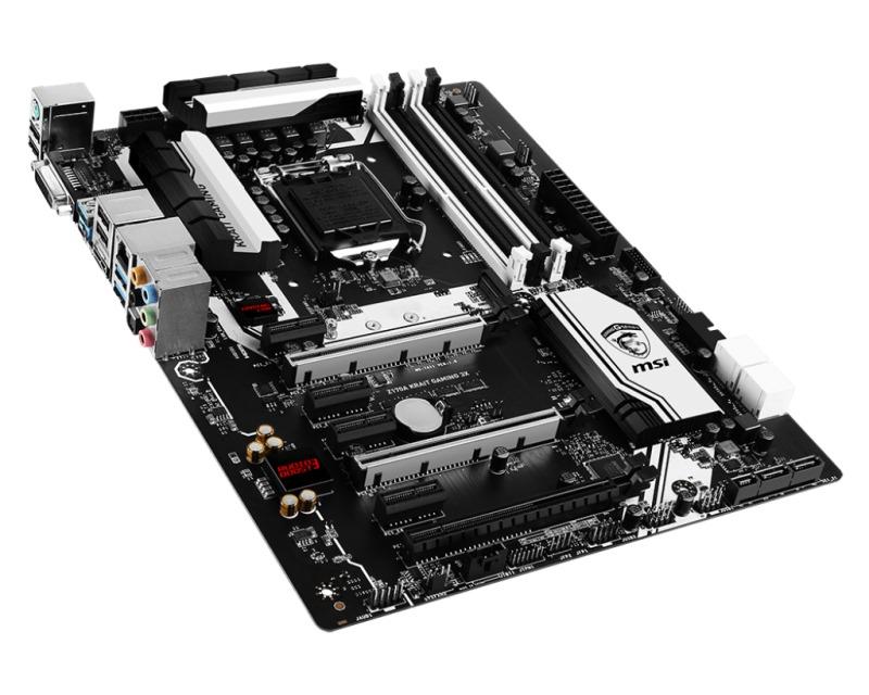 Základní deska MSI Z170A KRAIT GAMING 3X Základní deska, Intel Z170, LGA1151, USB3.1, ATX Z170A KRAIT GAMING 3