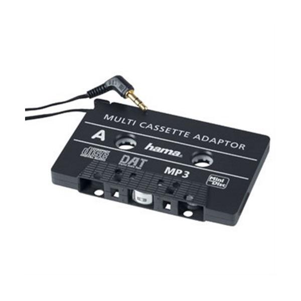 Adaptér kazetový do automobilu HAMA Adaptér, kazetový, do autorádia s kazetovým přehrávačem, 3,5 mm jack 46088