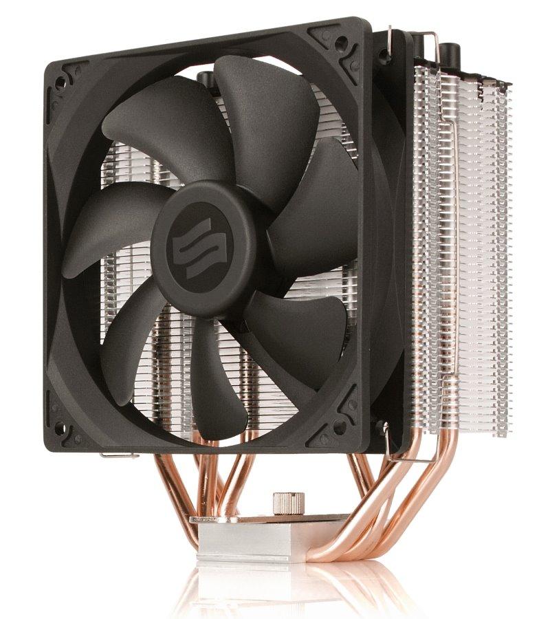 Chladič SilentiumPC Fera 3 HE1224 Chladič, CPU, ultratichý, 120mm fan, 4 heatpipes, PWM, pro Intel i AMD SPC144