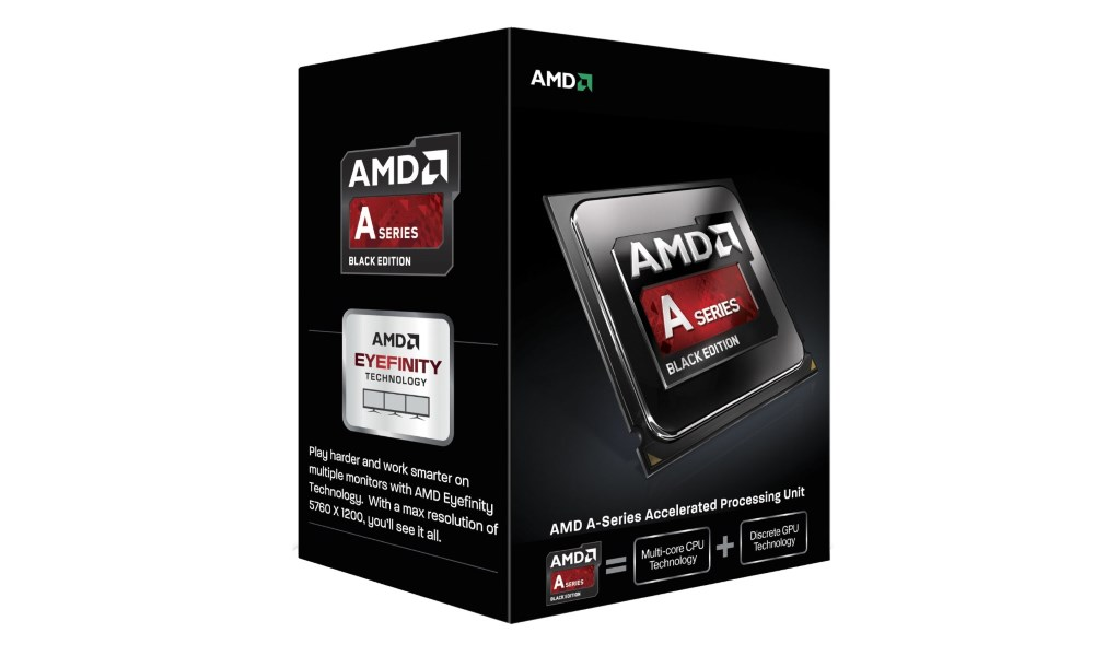 Procesor AMD A10-7860K Black Edition Kaveri Procesor, 3,6GHz, 4MB, socket FM2+, 65W, BOX with AMD Wraith cooler AD786KYBJCSBX