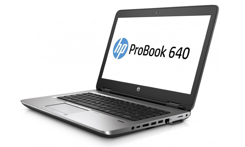 Notebook HP ProBook 640 G2 Notebook, 14 HD, i5-6200U, 4GB, 500GB, DVDRW, abgn, BT, FpR, Win 10 Pro downgraded T9X00EABCM