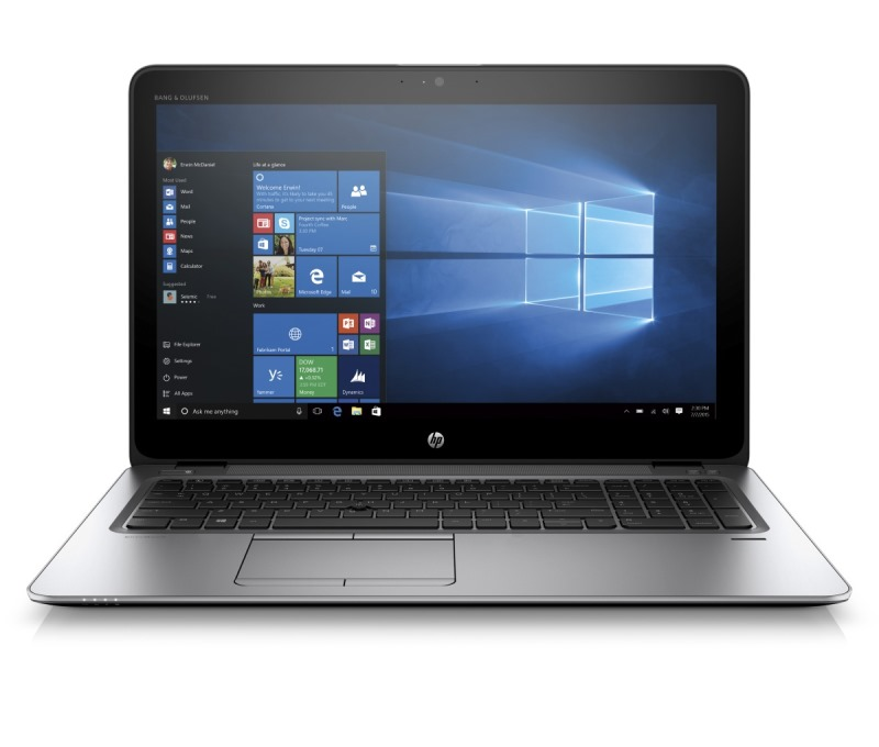 Notebook HP EliteBook 850 G3 Notebook, 15.6 FHD, i7-6500U, 8GB, 256GB, AMD R7 M365X 1GB, ac, BT, FpR, backlit keyb, W10P down V1C48EABCM