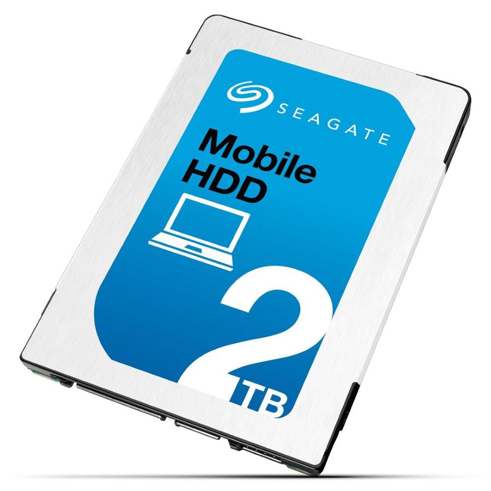 Pevný disk Seagate Mobile HDD 2TB Pevný disk, ST2000LM007, Interní 2,5, SATA-6G, 5400rpm, 128MB, 7mm ST2000LM007