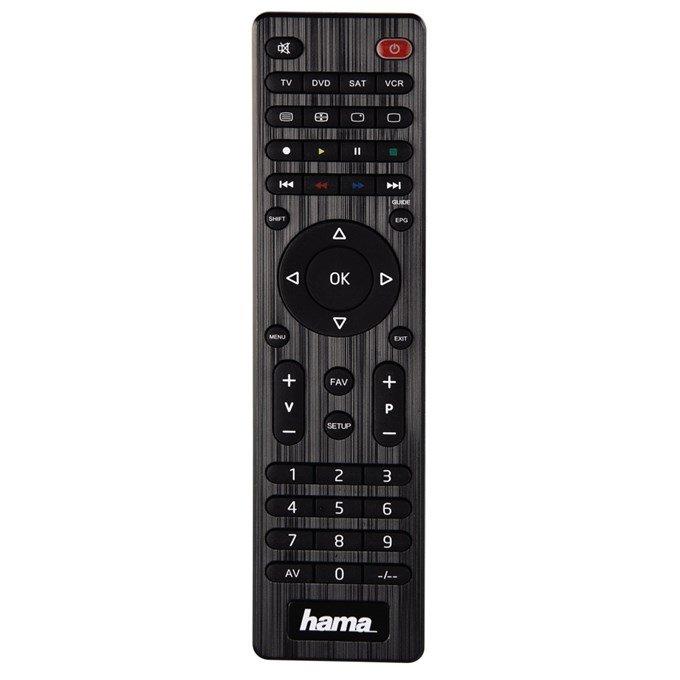Dálkový ovladač 4v1 HAMA 12183 Dálkový ovladač, univerzální, 4 v 1, 10 m, Micro AAA 12183