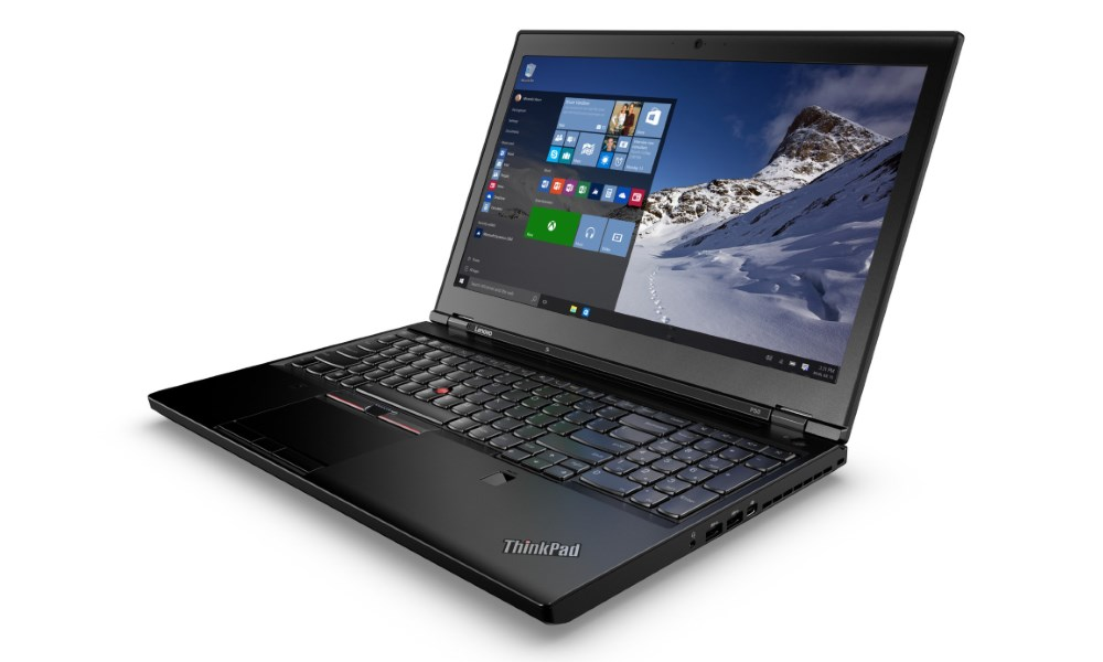 Notebook Lenovo P50 Notebook, i7-6820HQ, 32GB, SSD 512GB, 15,6 4K IPS, nVIDIA Quadro M1000M 4GB, W7P+W10P 64bit, 3yOnSite 20EQ000KMC