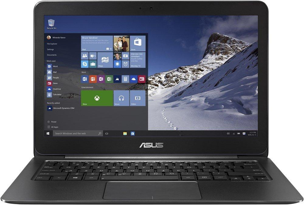 Ultrabook ASUS ZenBook UX305UA-FC001T Ultrabook, i5-6200U, 8GB, 256GB SSD, 13,3 IPS FHD, Intel HD, W10, černý UX305UA-FC001T