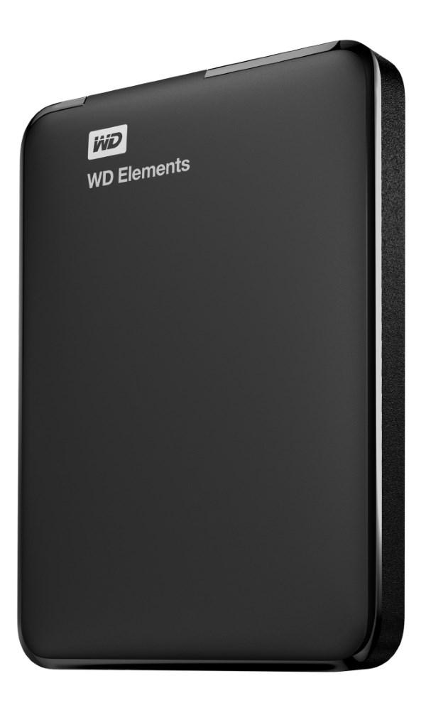 Pevný disk WD Elements Portable 3TB černý Pevný disk, externí 2,5, USB3.0, černý WDBU6Y0030BBK-EESN