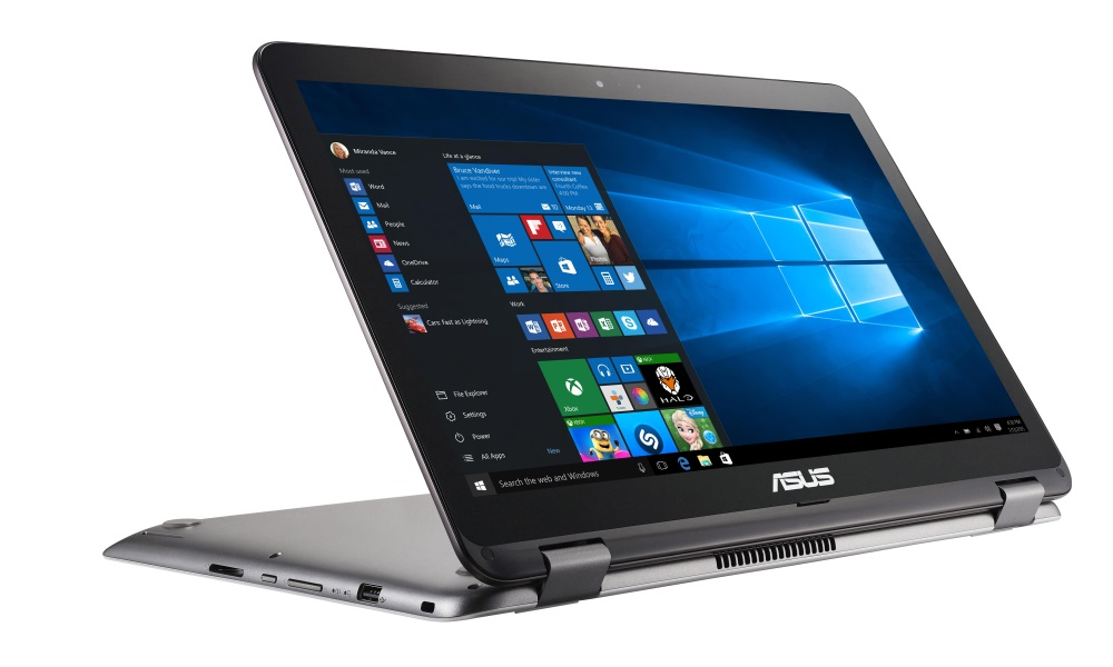Notebook ASUS TP501UA-DN026T Notebook, i5-6200U, 8GB, 1TB-5400, 15,6 FHD Touch, Intel HD Graphics, W10, tmavě šedý TP501UA-DN026T