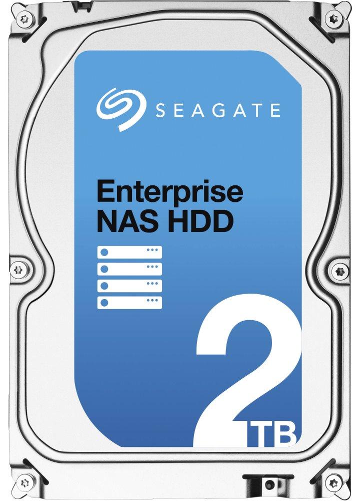Pevný disk Seagate Enterprise NAS 2 TB Pevný disk, ST2000VN0011, Interní 3,5, 2TB, 7200rpm, SATA-6G, 128MB + RESCUE ST2000VN0011