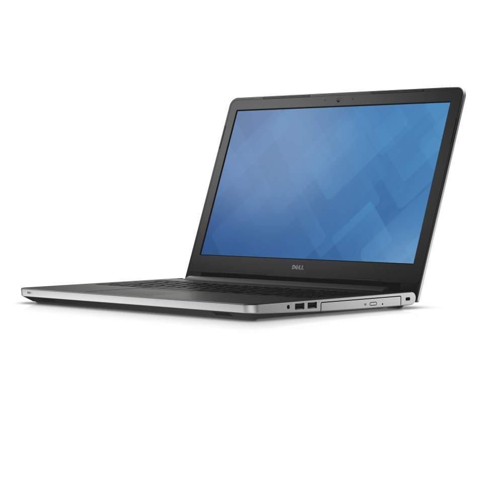 Notebook DELL Inspiron 15 5000 Notebook, i5-6200U, 8GB, 1TB, DVDRW, AMD R5 M335 4GB, 15.6FHD, W10P, stříbrný, 3YNBD on-site 5559-8474