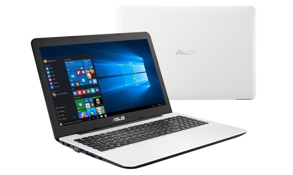 Notebook ASUS X555LB-DM592T Notebook, i7-5500U, 8GB, 1TB-5400, 15,6 FHD, DVD, GT940M 2G, W10, bílý X555LB-DM592T