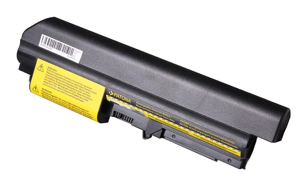 "Baterie PATONA pro Thinkpad 4400 mAh Baterie, pro notebook, 4400mAh, Li-Ion, 10,8V, 6-článková, pro IBM Thinkpad T61, R61i, 14"""