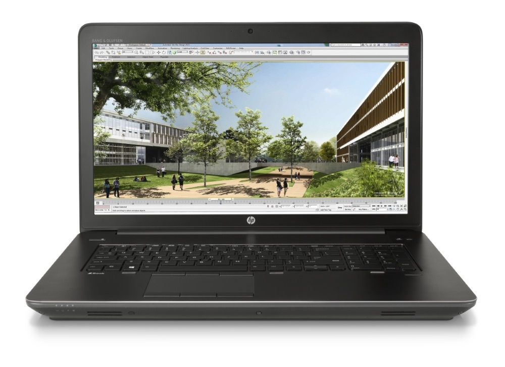 Notebook HP zbook 17 G3 Notebook, 17,3 FHD, i7-6820HQ, 16GB , 1TB + 256SSD +1x M.2, nVidia M4000M, HDMI, RJ45, W10P+down T7V67EABCM