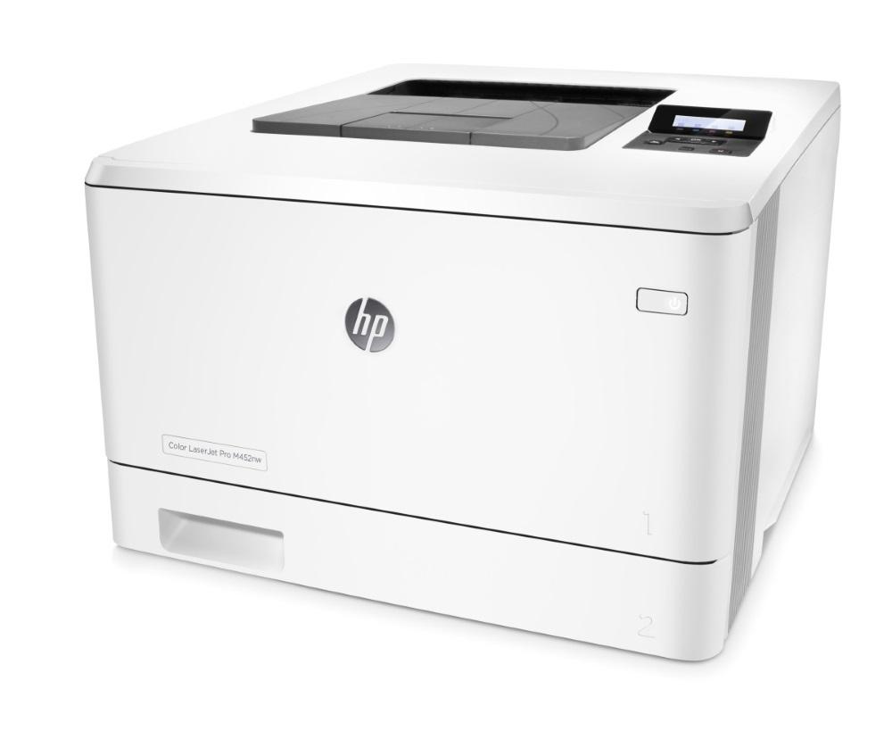 HP Color LaserJet Pro 400 M452nw / A4/ 27ppm/ 600x600dpi / USB/ LAN/ Wifi