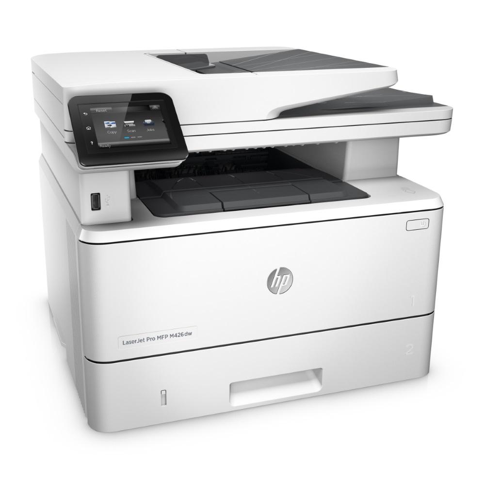 Multifunkční tiskárna HP LaserJet Pro MFP M426dw Černobílá multifunkční laserová tiskárna, A4, 1200x1200dpi, USB, LAN, Duplex, Wifi F6W13A