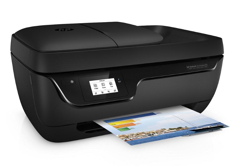Multifunkční tiskárna HP Deskjet 3835 Barevná multifunkční inkoustová tiskárna, A4, 8,5/6ppm, print+scan+copy+fax, USB, Wifi F5R96C