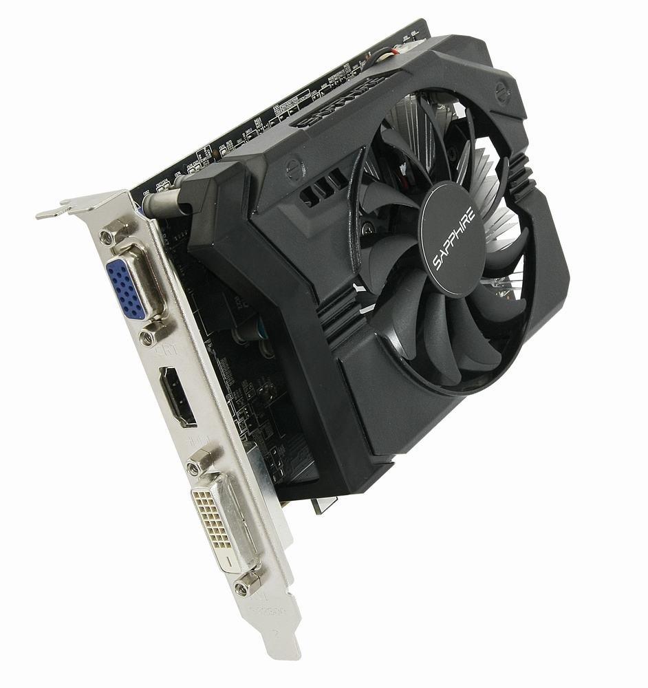 Grafická karta Sapphire Radeon R7 250 2GB Grafická karta, PCI-E, 2GB DDR3, 512SP Edition, DVI, HDMI 11215-21-20G
