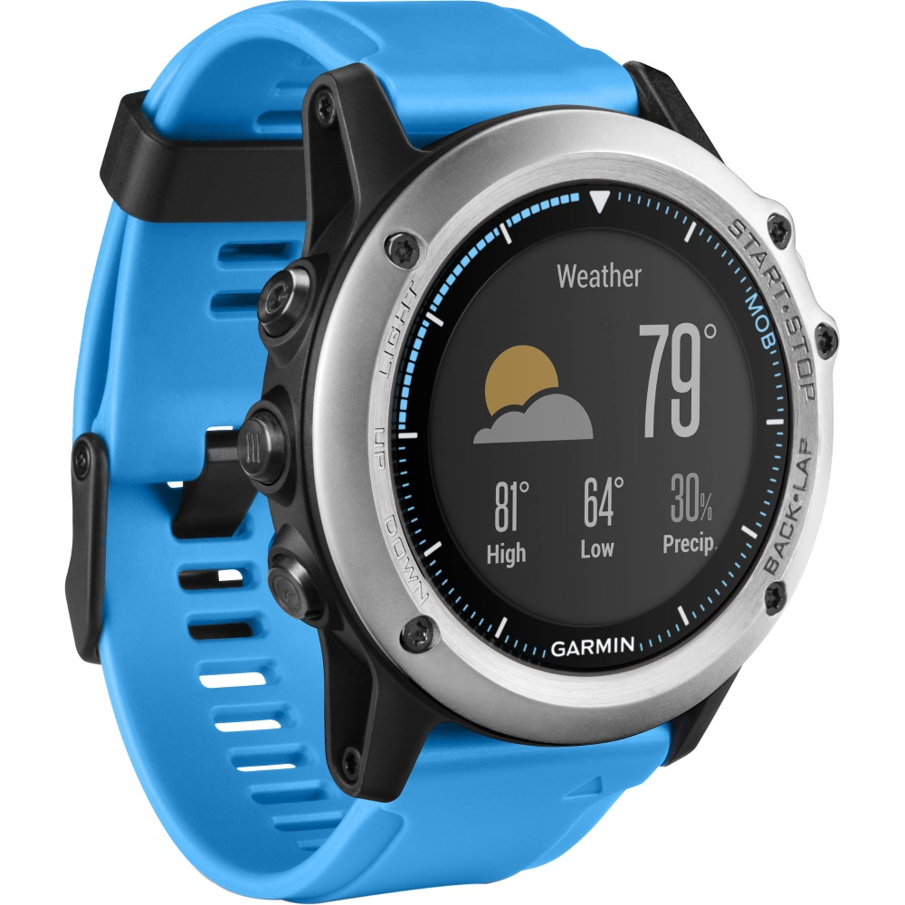 Sportovní hodinky GARMIN Quatix3 Sportovní hodinky, jachtařské, ANT+, Bluetooth, GPS/Glonass, černé 010-01338-1B