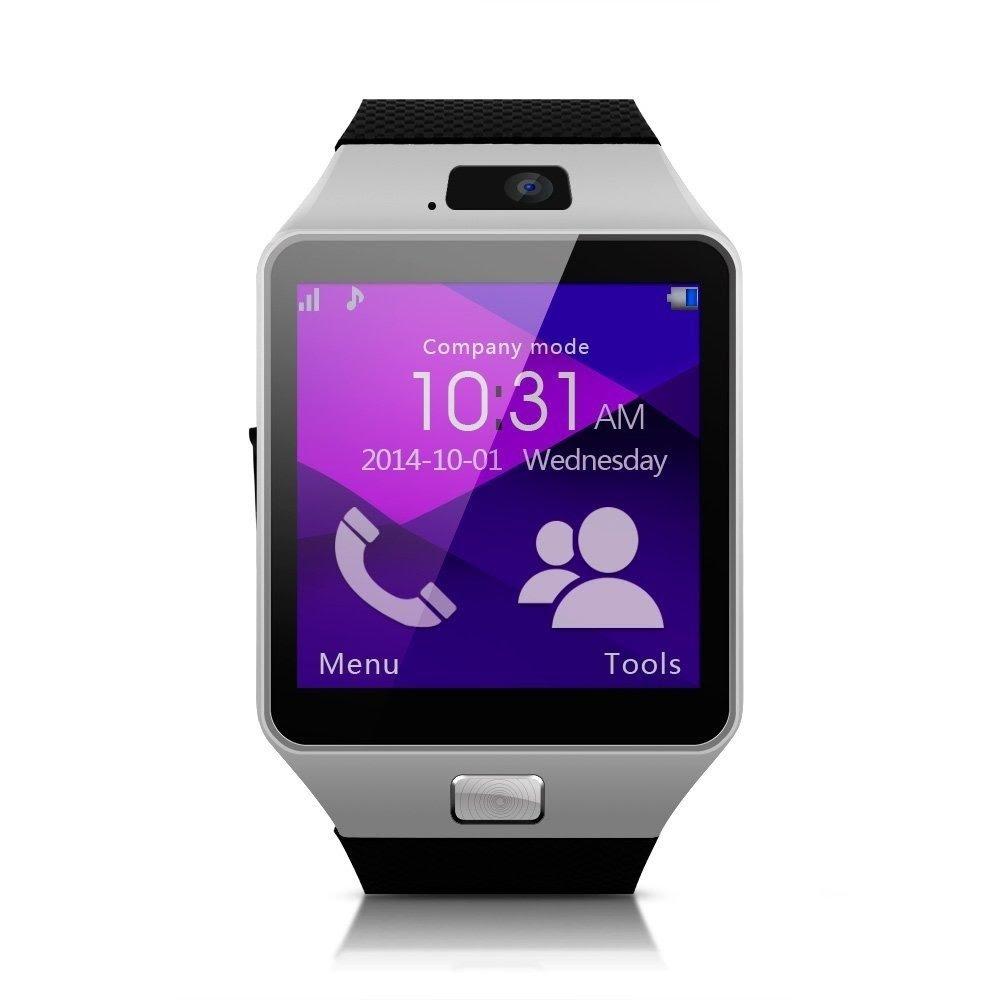 Chytré hodinky Patona Erenbach Smartwatch Chytré hodinky, CPU MTK6260A, 128MB RAM, 64MB HDD, micro SIM, BT, české prostředí, černé PT5016