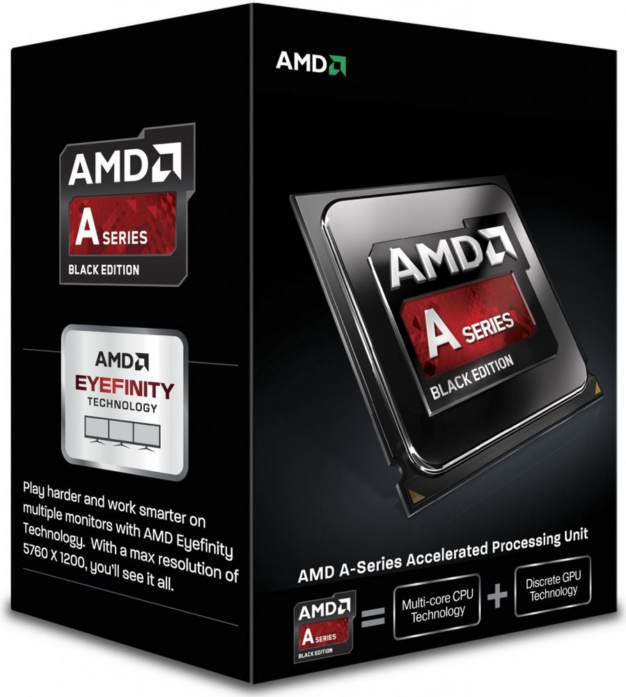 Procesor AMD A10-7890K Black Edition Godavari Procesor, 4,1GHz, 4MB, socket FM2+, 95W, Radeon R7, Box with Wraith cooler AD789KXDJCHBX