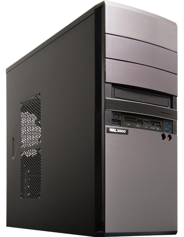 HAL3000 EliteWork II Počítač, Intel i5-6400, 8GB, 1TB, DVD, CR, bez OS PCHS2106