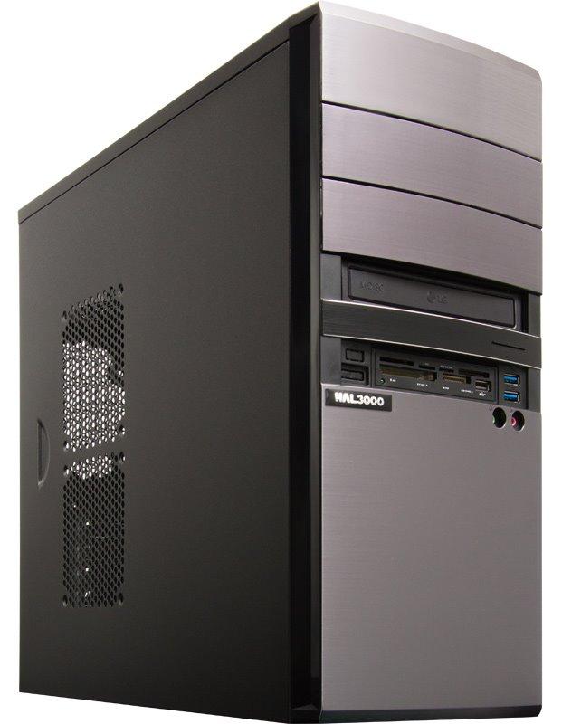 HAL3000 EliteWork II SSD Počítač, Intel i5-6400, 8GB, 120GB, DVD, CR, bez OS PCHS2107