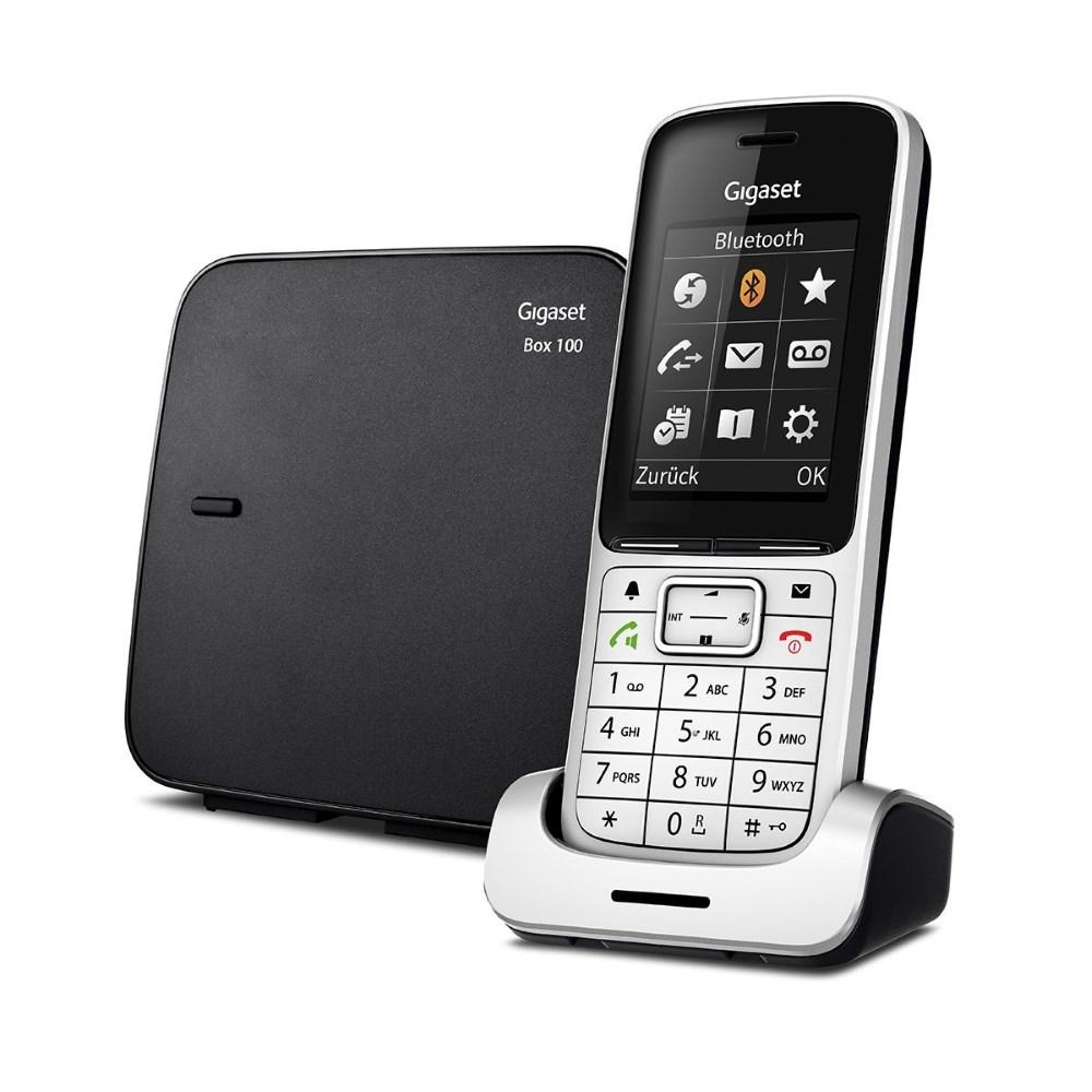 Bezdrátový telefon SIEMENS GIGASET SL450 černý Bezdrátový telefon, DECT/GAP, bezdrátový, černý GIGASET-SL450