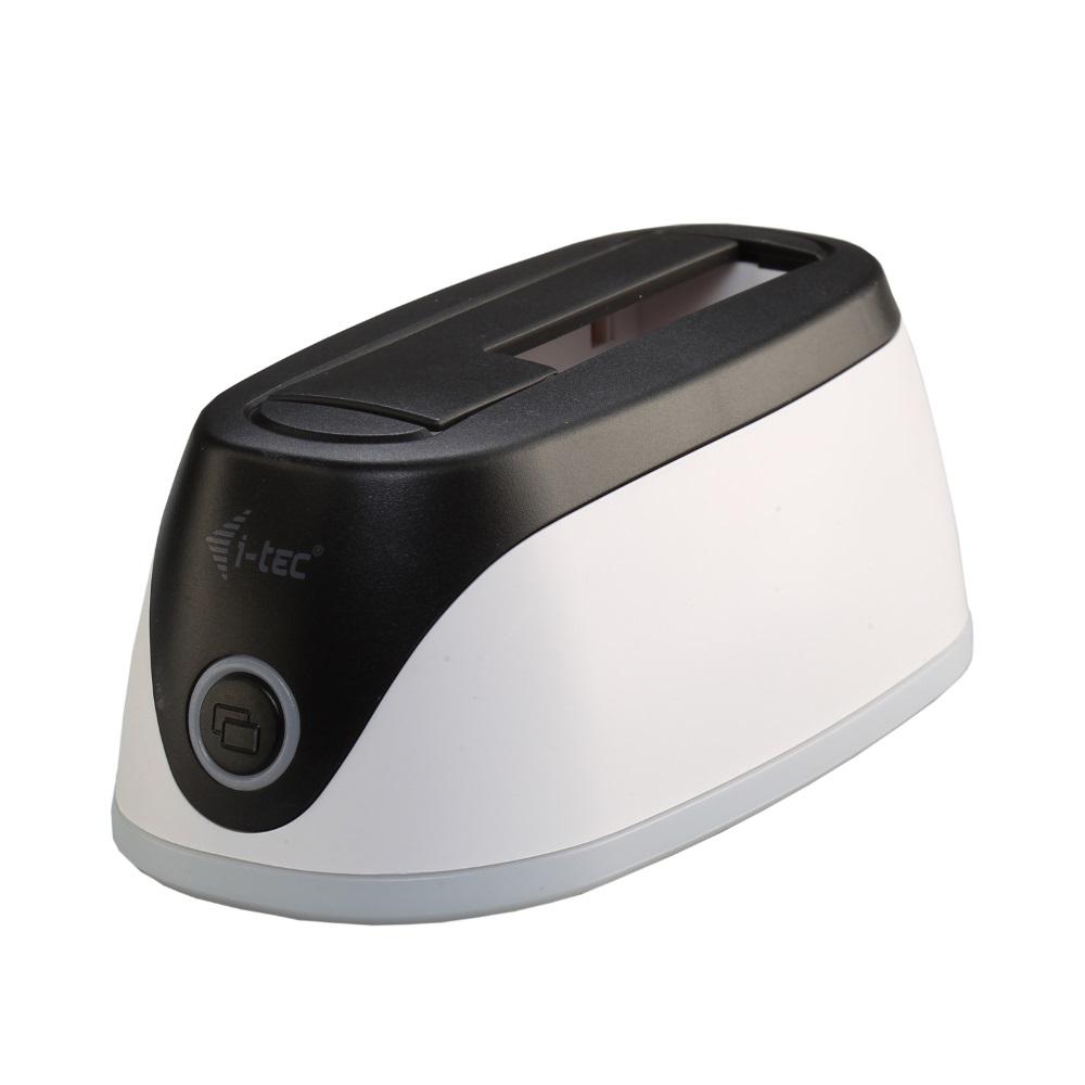 Box na disk I-TEC ADVANCE SATA Box na disk, externí, dokovací stanice, pro HDD 2,5 a 3,5, SATA, SSD, Backup tlačítko U3HDDOCK