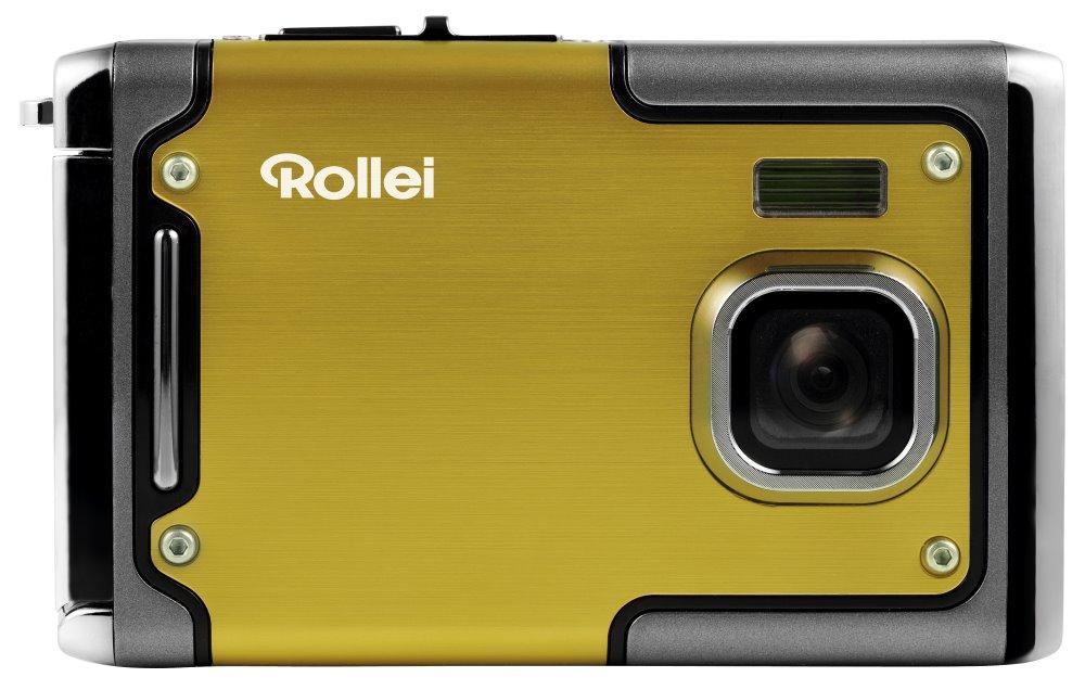 Digitální fotoaparát Rollei Sportsline 85 žlutý Digitální fotoaparát, 8 MPix, 2,4 LCD, voděodolný do 3 m, FULL HD, žlutý 10062