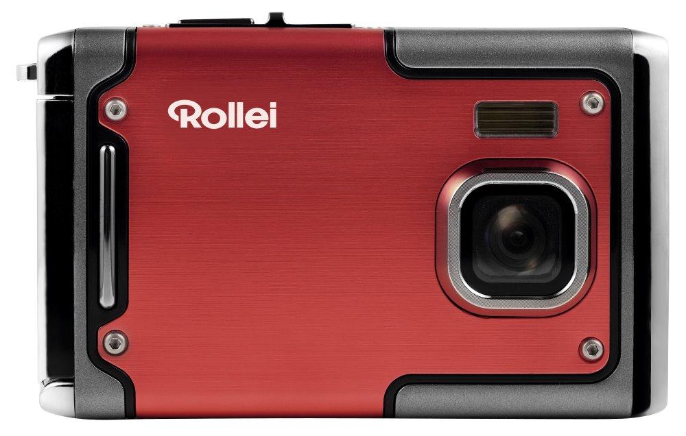 Digitální fotoaparát Rollei Sportsline 85 červený Digitální fotoaparát, 8 MPix, 2,4 LCD, voděodolný do 3 m, FULL HD, červený 10063