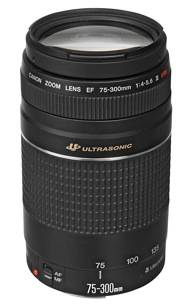Objektiv Canon EF 75 - 300 mm f/4.0-5.6 III USM Objektiv, zoom, EF, 75-300mm, f/4.0-5.6, USM 6472A012