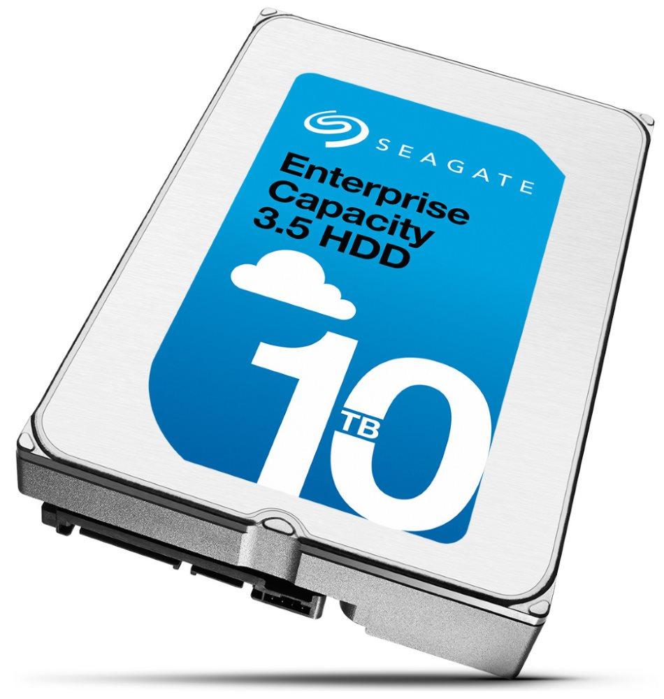 Pevný disk Seagate Enterprise Capacity 10 TB Pevný disk, interní 3,5, SATA600, 7200 rpm, 256 MB ST10000NM0016