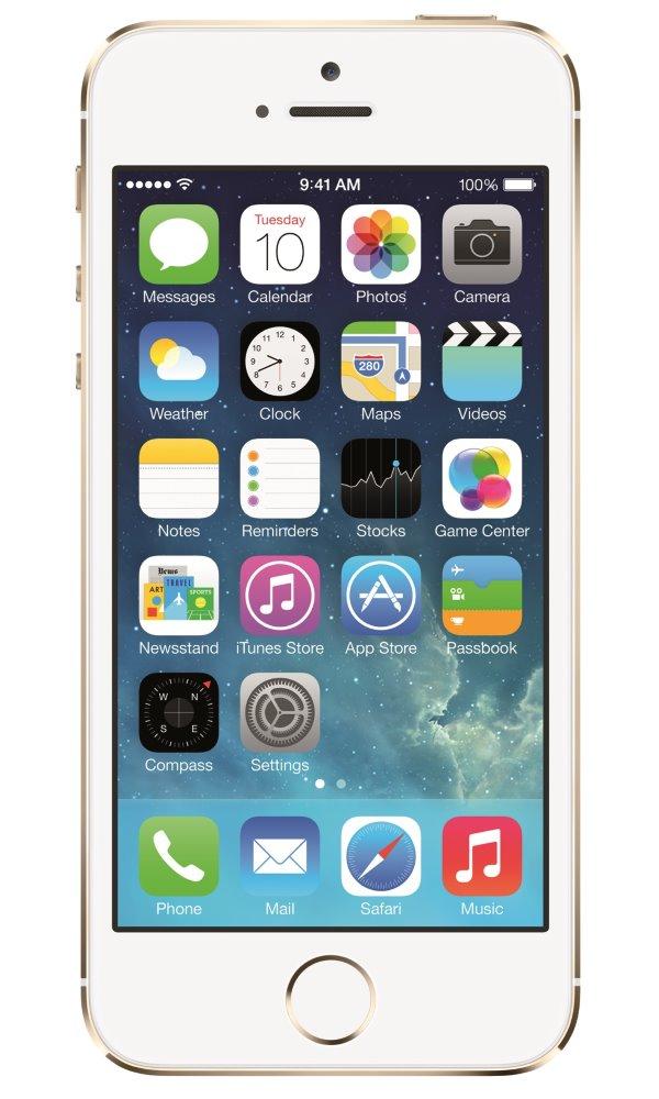 Mobilní telefon Apple iPhone SE 16GB zlatý Mobilní telefon, dotykový, 4, 16GB, iOS 9, zlatý MLXM2CS/A
