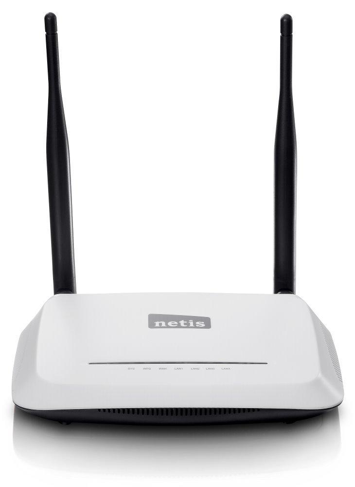 Router Netis WF-2419 Router, WiFi, 4 x LAN, 1 x WAN, 802.11b/g/n, firewall, 2 x anténa 5 dBi - OPRAVENÉ NARNTS100003V1